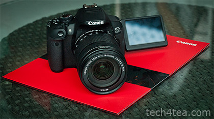 Canon EOS 650D has 18 megapixels and a touch screen monitor.