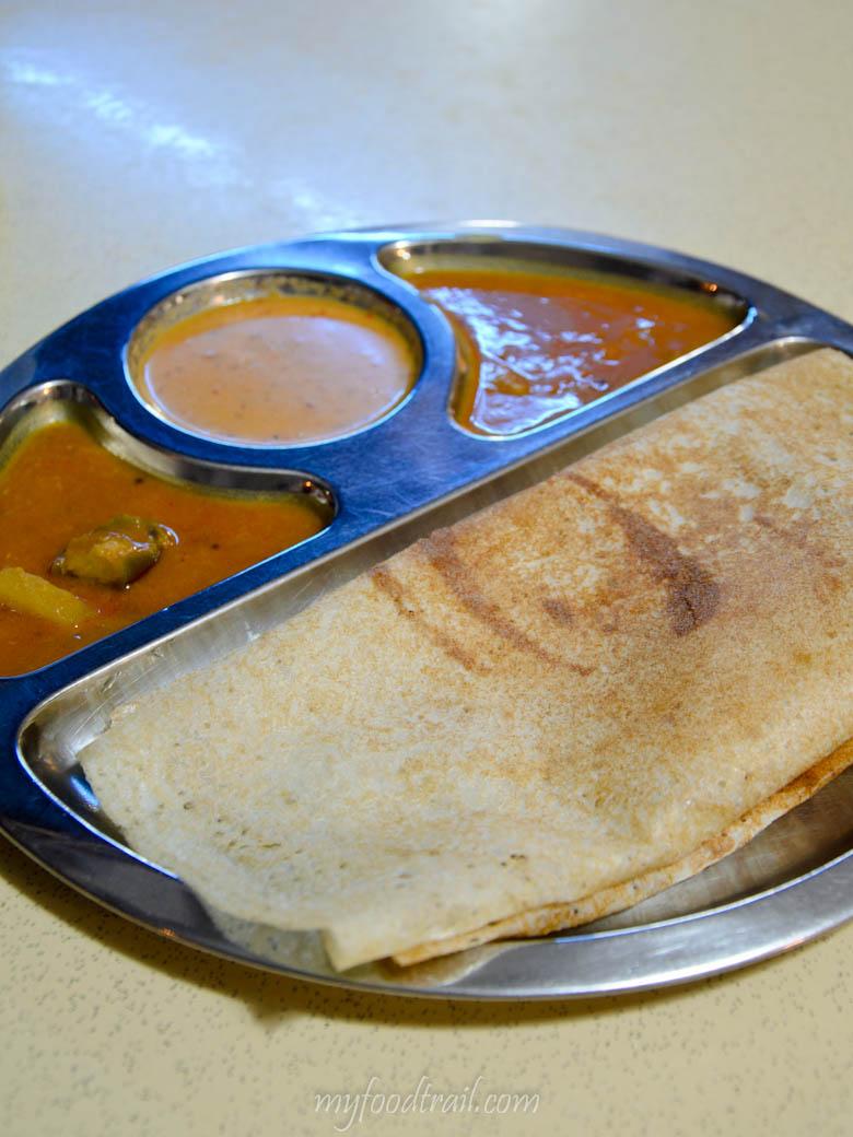 Singapore Hawker Food - Thosai