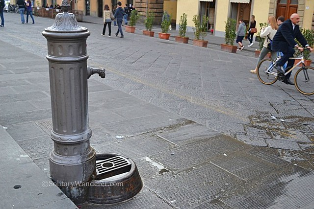Street fountain in Rome