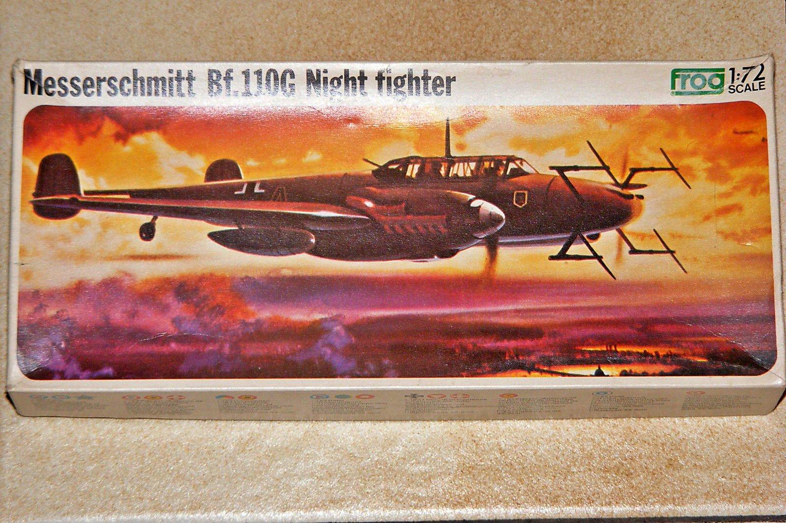 Messerschmitt Bf.110G Frog