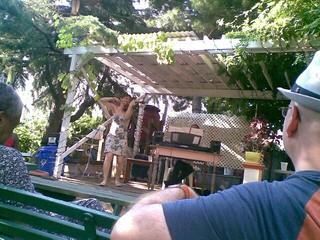 Bach in morrisjumel garden #makemusicny