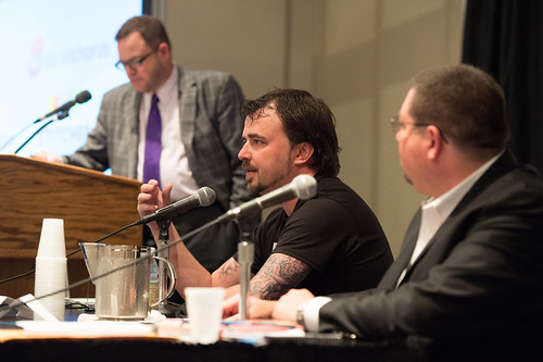 Scott Stratten and Jim Kukral Talk with Jay Baer at BlogWorld NY
