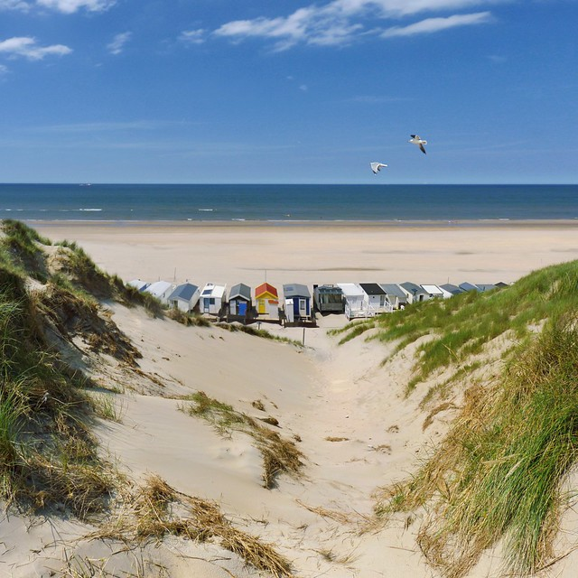 Wonderful Dutch beach life