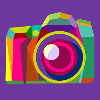 The new buddy icons for Flickr: DSLR 2