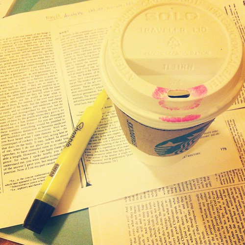 #starbucks to study earlier today