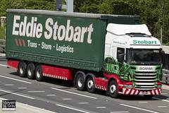 Scania R440 6x2 Tractor - PK11 BWP - Jennifer Angela - Eddie Stobart - M1 J10 Luton - Steven Gray - IMG_9668