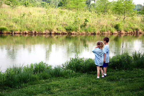 Kids-by-water