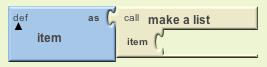 def item block