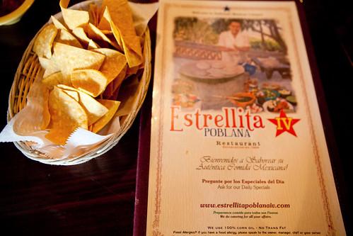 Estrellita Poblana IV's menu