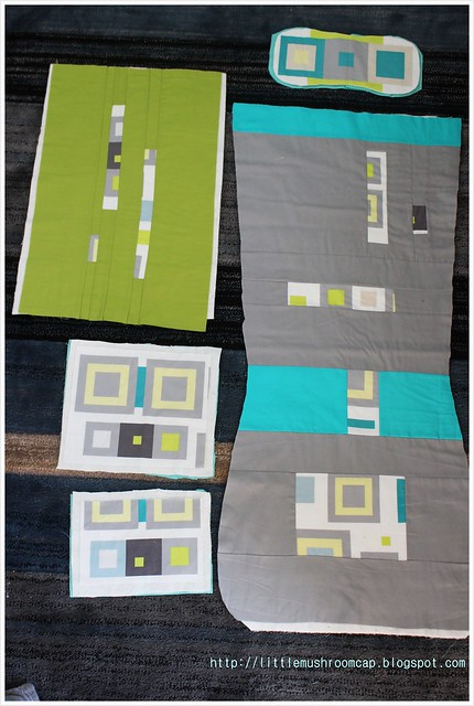 All panels ready to quilt back version