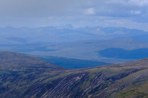 Ben Nevis from the summit of Stuchd an Lochain