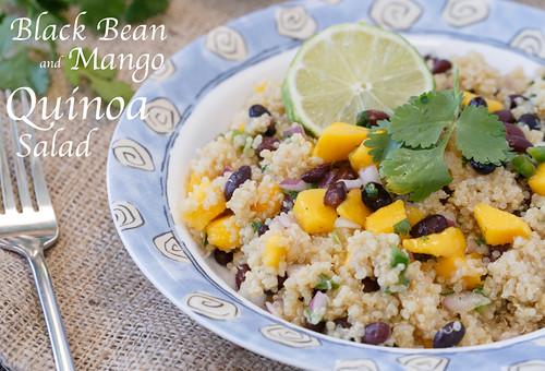 unique quinoa salad