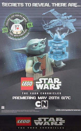 NY I Heart Yoda Minifigure