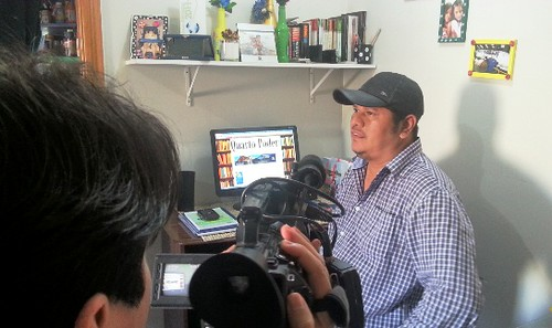 Marcos Santos, blogueiro. Foto: Jeso Carneiro