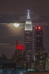 2013 Supermoon Eclipse from NYC [Explored]