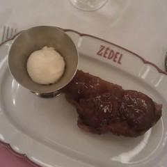 Tarte Tatin at Brasserie Zedel