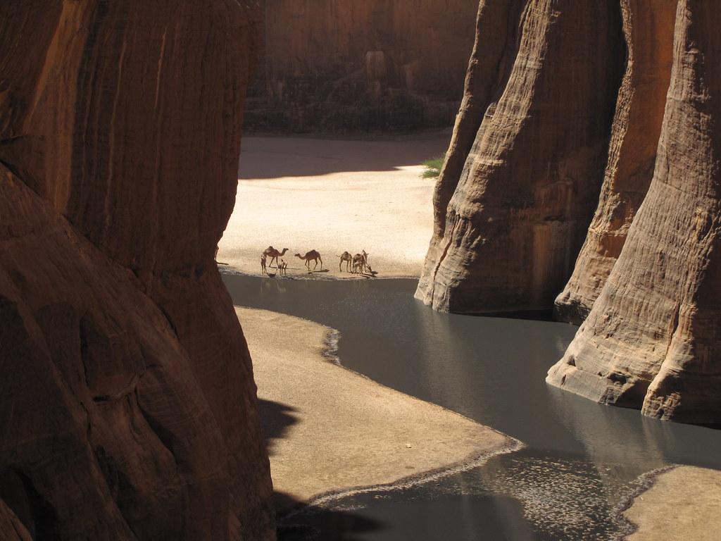 Ennedi. Guelta de Archei. Desde el mirador