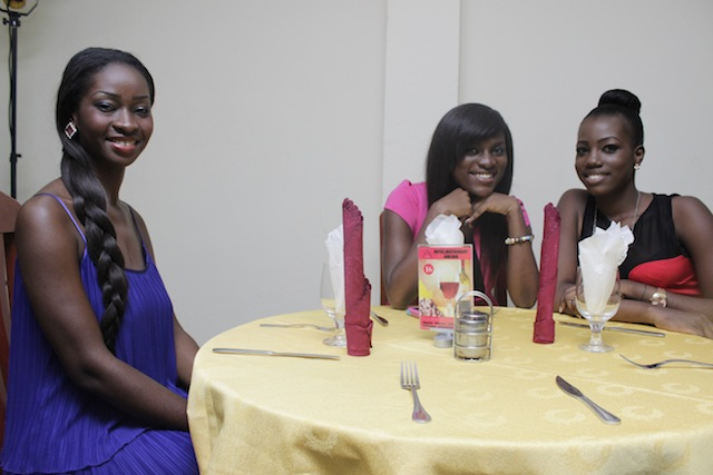 Uncle Ebo meets Miss Ghana 2013 finalists (1)