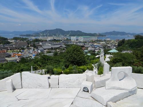 sculpture japan stone museum italian hill marble hiroshimaken ikuchijima setoda miraishinnooka onomichishi kosanjikoso kuetanikazuto sagishima
