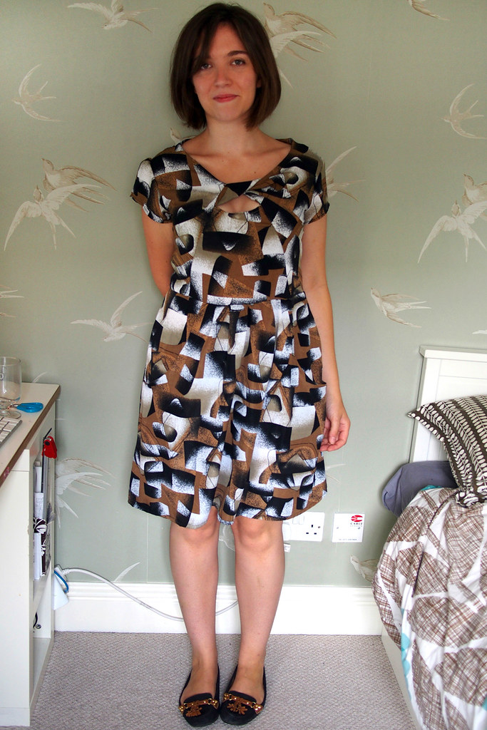Midcentury mashup dress