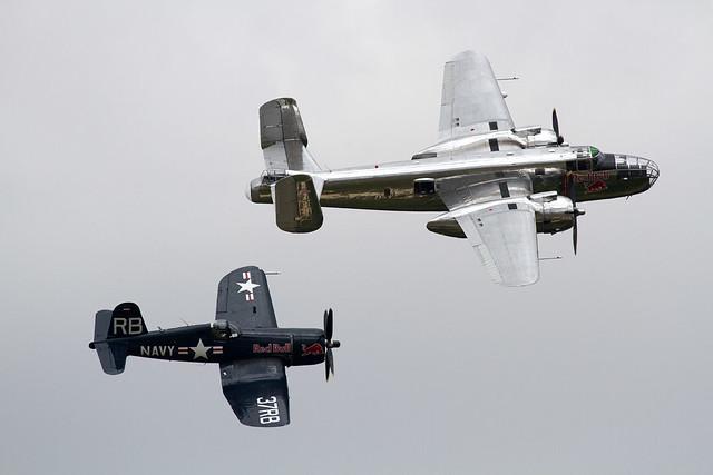 Red Bull B-25J Mitchell