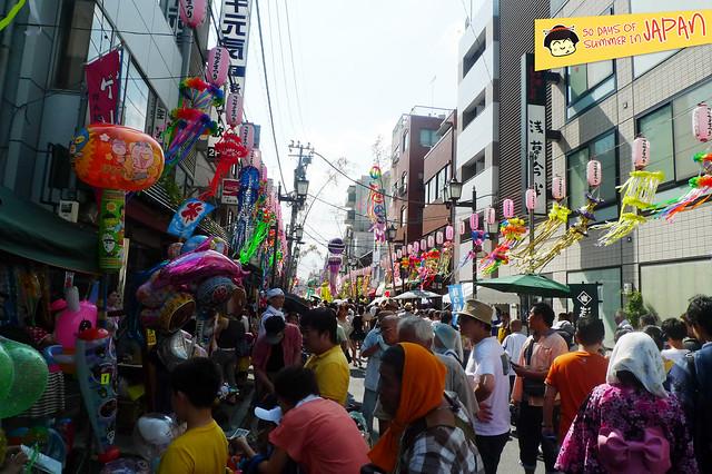 Shitamachi Tanabata Matsuri (2013) - summer street festival 3
