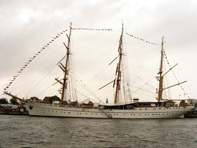 Segelschiff Mir