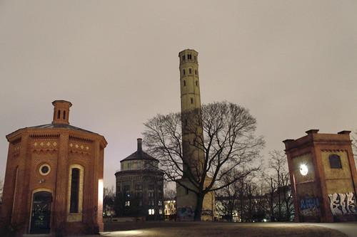 Водонапорная башня Берлин Пренцлауэрберг