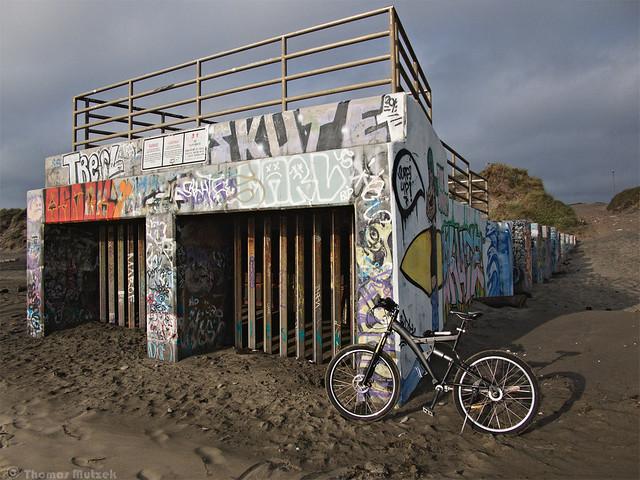 Storm Drain at Ocean Beach