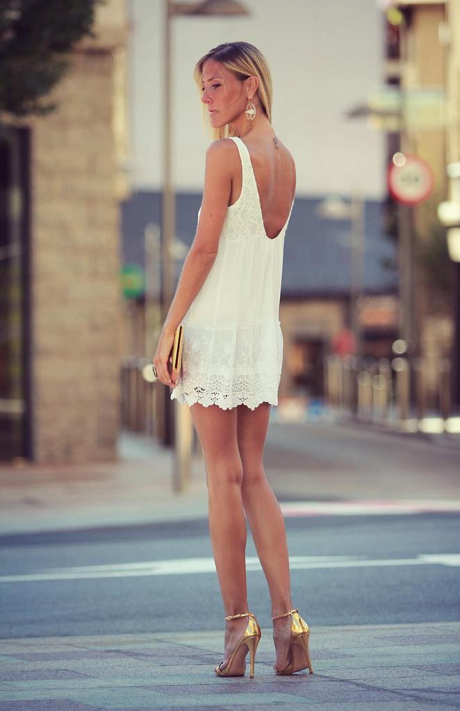 style lover white dress XVIII