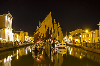 Cesenatico's port canal - Marine Museum