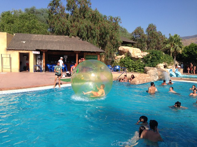 Mini Hollywood Swimming Pool With Zorbing Ball Explore J Flickr Photo Sharing