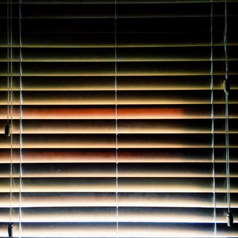 replacing the leg-stabbing horizontal blinds
