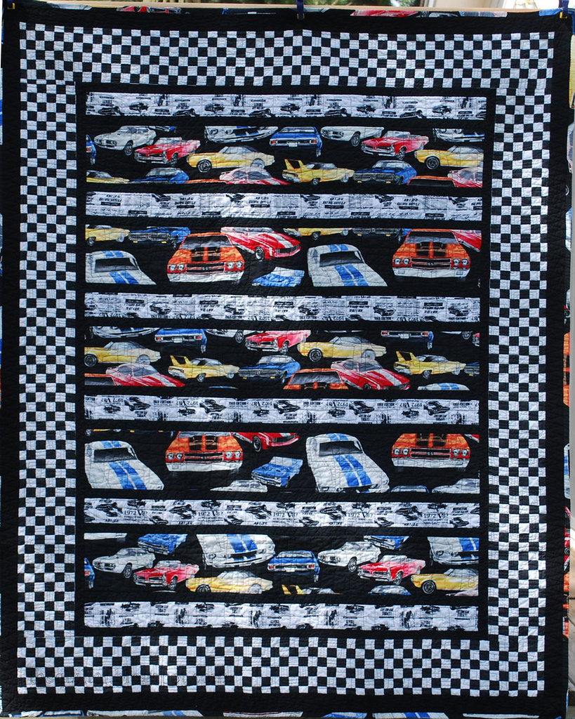 Donation Quilt - Cars