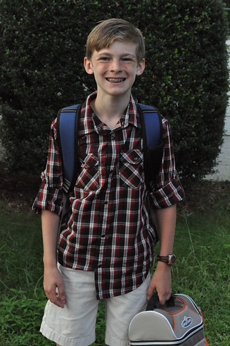 First day of school - 2013