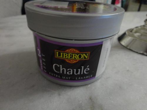 Etag res peinture effet chaul fourchettes et pinceaux - Peinture a essuyer effet chaule ...