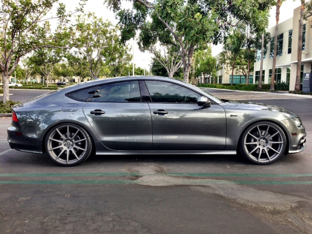 Before And After Audi A7 Pics Gt Inchesmatter Greyongrey
