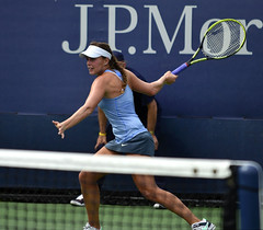 2013 US Open (Tennis) - Qualifying Round - Michelle Larcher De Brito
