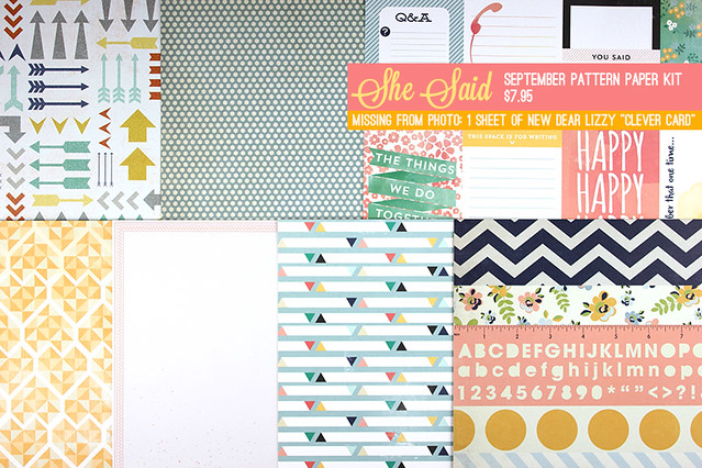 Sept Pattern Paper Type