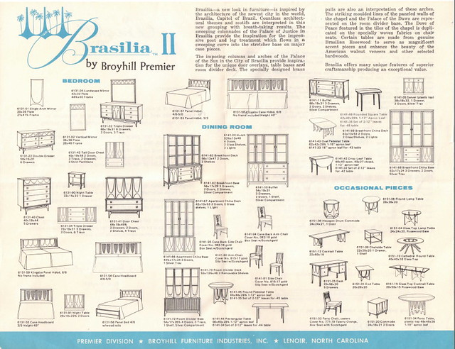 Mr Modtomic Broyhill Brasilia Ii Revisited Reader Jon