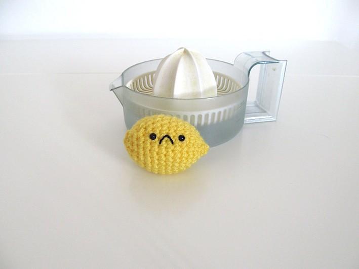 Ravelry: Cute Lemon Amigurumi pattern by Kate Wood | 531x709