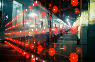 Sài Gòn train station into purebeauty lanterns