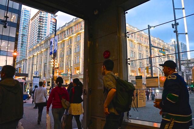 City Centre Subway Station Entrance