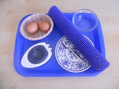 Egg Slicing Activity (Photo from Counting Coconuts)