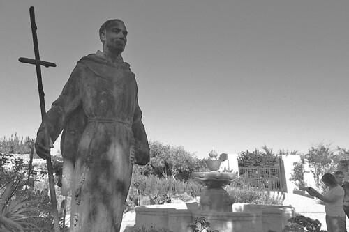 Mission Carmel - Father Serra