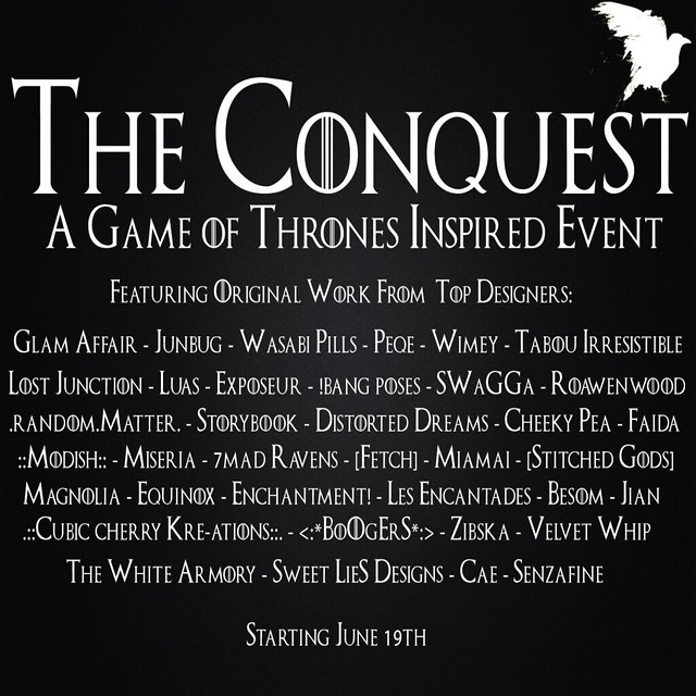 The Conquest.. coming soon!