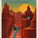 Travel Poster: Valles Mariners by Official SpaceX Photos