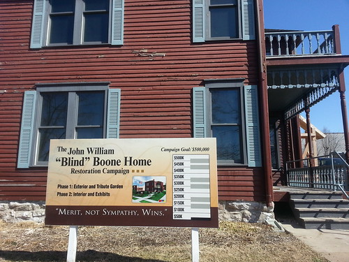 PROMISE KEEPERS?  City Hall, Council making good on Blind Boone Home renovation