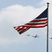 Missing man formation with flag by Muckraker
