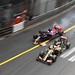 Romain Grosjean (Lotus) & Max Verstappen (Scuderia Toro Rosso) - Collision - Monaco 2015 by Ryan_TWilliams